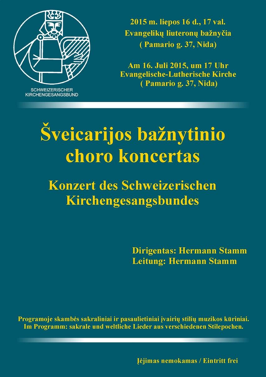 Swiss church choir association
