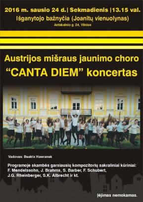 Austrian mixed youth choir Canta Diem