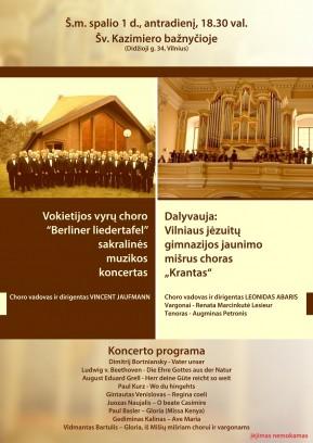 Male Choir Berliner Liedertafel