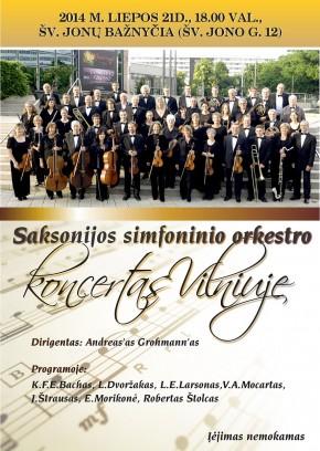 Saxonian Symphony Orchestra Chemnitz