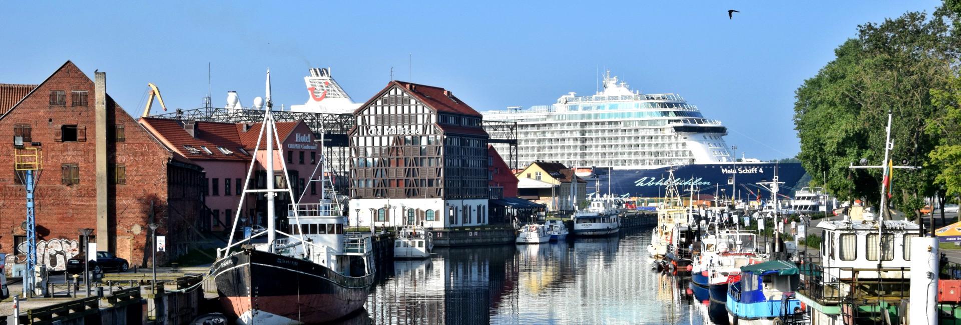 Cruise ship in Riga